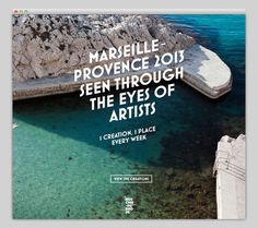 Snapshots of Provence 2013 #website #layout #design #web