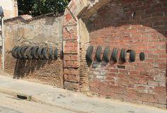visual effects 2015 #wheels #urban #visual #effect #black #street #tunel #serra #wheel #minimal #art #octavi #ooss