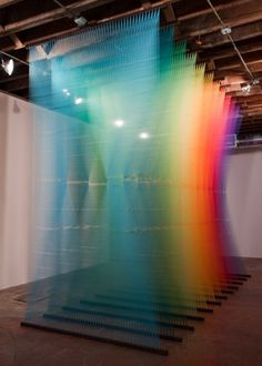 _2010-10-22_GA_MG_8769.jpg (JPEG Image, 500x700 pixels) #dawe #illusion #gabriel #installation #colors #art #fiber