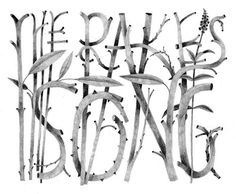 Carson Ellis | Portfolio | The Rake's Song #typography