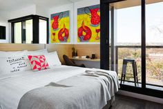 The Schaller Studio - Boutique Art Hotel - www.homeworlddesign.com (16) #boutiquehotel #architecture #travel #art