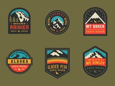 Badges #logo #branding #identity