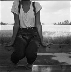 Photo by Per Forsberg #forsberg #suspenders #shirt #summer #per #bw