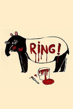 All sizes | Ringing Tapir | Flickr - Photo Sharing! #ricardo #cavalo