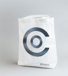 Cambridge Open Brand Identify from The London Branch #logo #identity #branch #totebag #branding #print