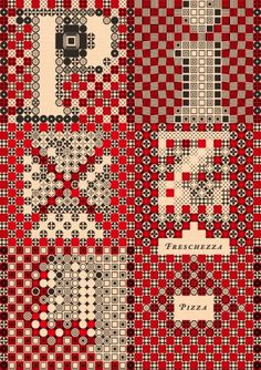 Julien Priez - Graphisme/Typographie #graphic design #pattern #complex #julien priez