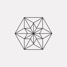 DAILYMINIMAL: #FE16-481 A new geometric design every day