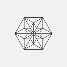 DAILYMINIMAL: #FE16-481 A new geometric design every day