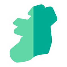 See more icon inspiration related to island, ireland, maps and location, country and map on Flaticon.