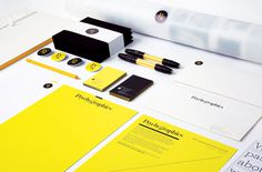 yellow, stationary, brand, button