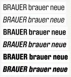 [Fonts] Brauer Neue PrintRoot Forums #font #specimen #brauer #typography