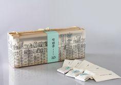 Traditional herbal tea packaging