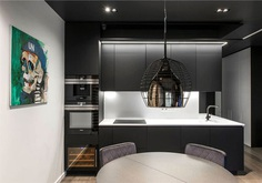 Redeco Composed Bachelor Pad Relying on Trendy Dark Colors - InteriorZine