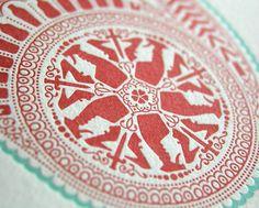 OLYMPUS DIGITAL CAMERA #red #symmetrical #pattern