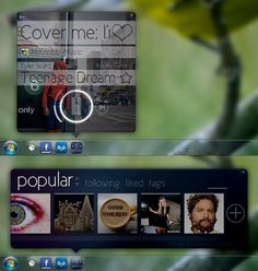 Mixtape by ~BleuRuby-7 on deviantART #user #interface #pokki #windows