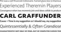 Seravek by Eric Olson #font #process #serif #sans #type #typography
