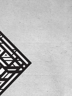 Organic Rhombus #geometry #design #blaqk #posters #symmetry #greece #patterns #simek #athens