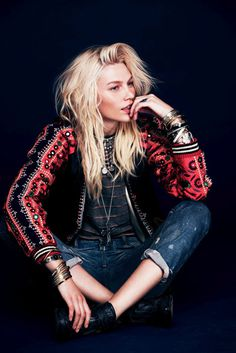 Aline Weber by Anthony Nocella for Free People's Spring Campaign #model #girl #look #photography #fashion #style