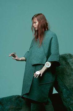 Irina Kravchenko by Paul Jung for Bon Magazine