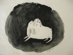 Caroline Gaedechens aus Hamburg malt uns die fantastische Welt der Metamorphose