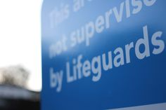 Lifeguard sign, Ella Clark, taken on 1st of September, http://suitcasedreaming.tumblr.com