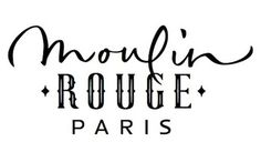 Chez Porchez: Moulin Rouge lettering:Â refused #logo
