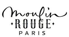 Chez Porchez: Moulin Rouge lettering:Â refused #logo #typography