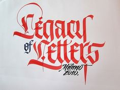 Google Image Result for http://blog.defgrip.net/wp-content/uploads/2010/08/4720303081_50ab36f341_z-550x417.jpg #calligraphy #red #barcellona #luca #type