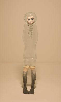 "On View: Yu Jinyoung's ""I'm OK"" at Galleria Patricia Armocida | Hi Fructose Magazine"