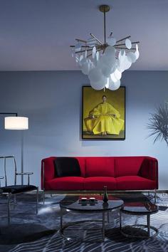 sofa, decoration, interior design, H&W Design Office