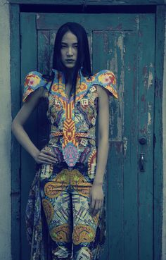 Sabine Ducasse #dress