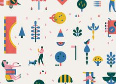 lotta nieminen #illustration #pattern #lotta