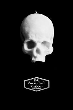 switched kick out surf syndicate #punk #surf #candle #photography #logo #skull