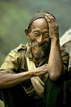Nepalese rice farmer dude