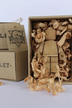 Limited Edition Wood Carved Lego Guys by Malet Thibaut 6