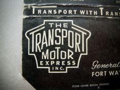 All sizes | The Transport Motor Express | Flickr - Photo Sharing! #lettering #motor #emblem #logo #transport #treatment #express #type #typography