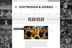 Ryan Sims — Chitwood & Hobbs #website #interactive #sports #blog