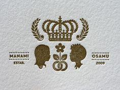 _0001_manami_osamu_wedding_crest1 #crest