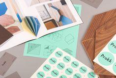Prokk by Lesha Galkin and Maxim Scherbakov #branding #brand design