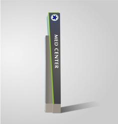 Wayfinding | Signage | Sign | Design | 医院户外地牌式标识设计