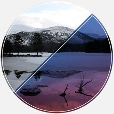 Marcus Kelman #mountain #design #graphic #color #illustration #identity #logo #colour