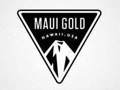 Dribbble - MAUI by Matt Stevens #mark #logo #brand #minimal