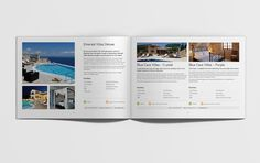 Peligoni Club brochure #brochure #spread #design #holiday #travel