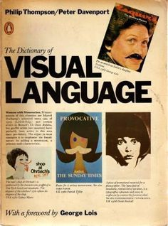 The dictionary of visual language (Open Library) #visual #jacket #of #book #the #cover #dictionary #language