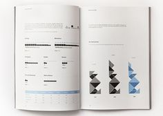 Annual Report on the Behance Network #typography #infographics #annual report #report