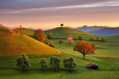 Hobbiton: Beautiful Swiss Countryside by Martin Rak