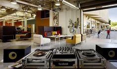 WANKEN - The Blog of Shelby White #facebook #office #architecture #industrial