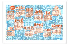 2011 CALENDAR - ADP #block #wood #type