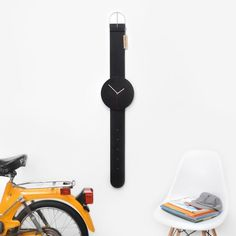 Watch Clock by Andrew Neyer #tech #flow #gadget #gift #ideas #cool
