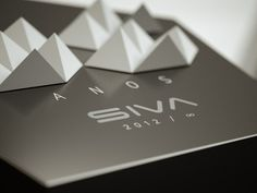 Trophy Award 25 Year Anniversary SIVA on Behance #packaging